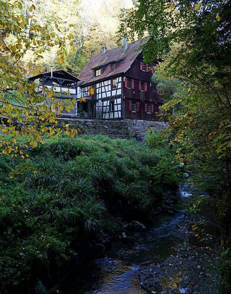 Die Klingenmuehle in Welzheim