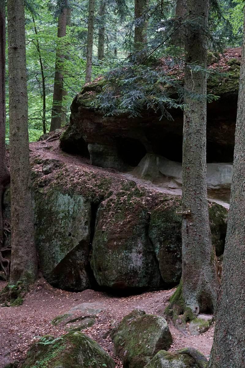 Haegelesklinge und Brunnenklinge im Schwaebischen Wald