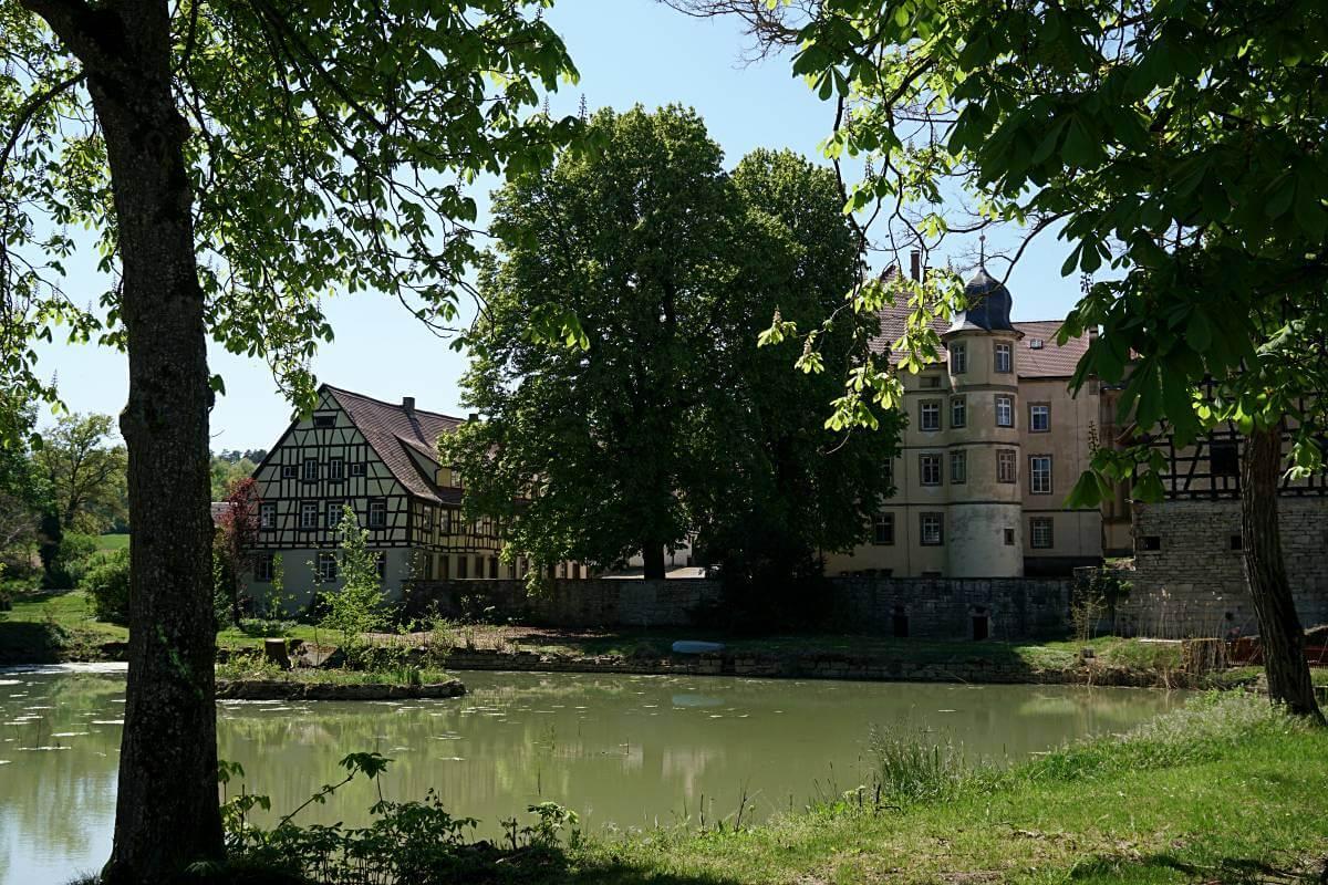 Schlosspark Messbach Hohenlohe