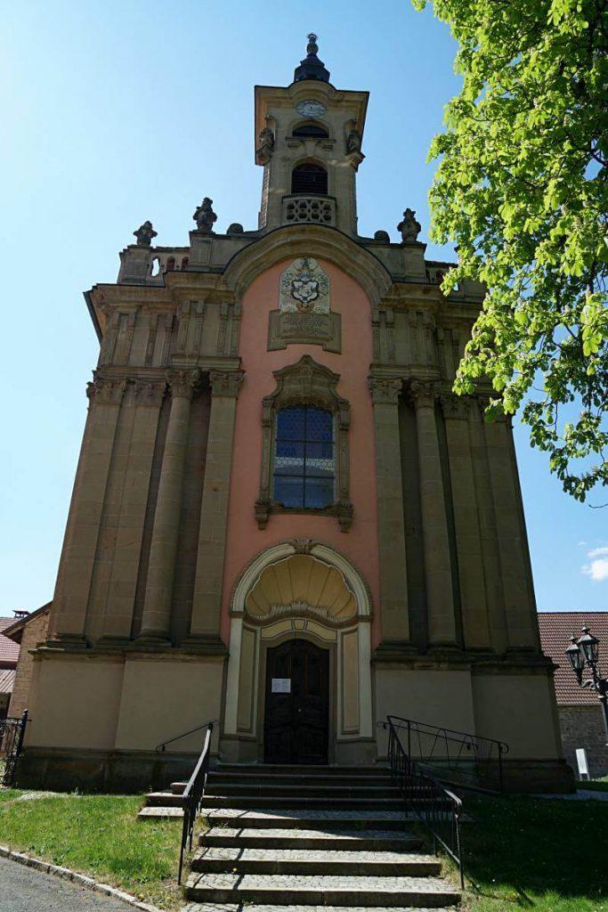 Katholische Pfarrkirche Zur Heiligen Dreifaltigkeit in Messbach