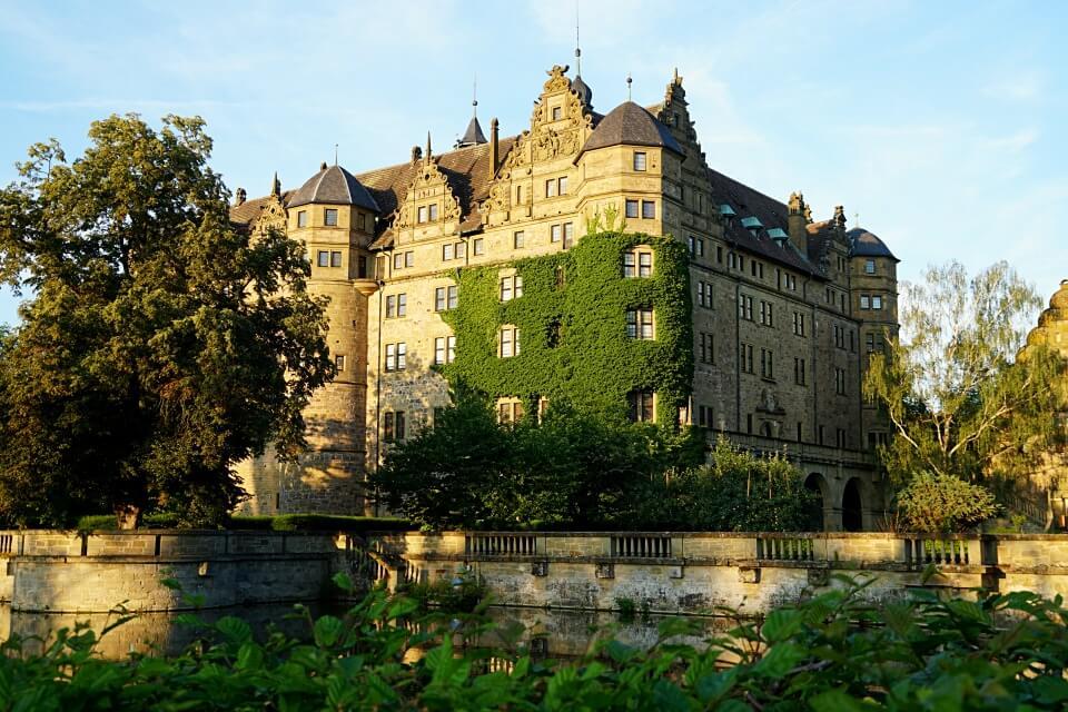 Schloss Neuestein in Hohenlohe