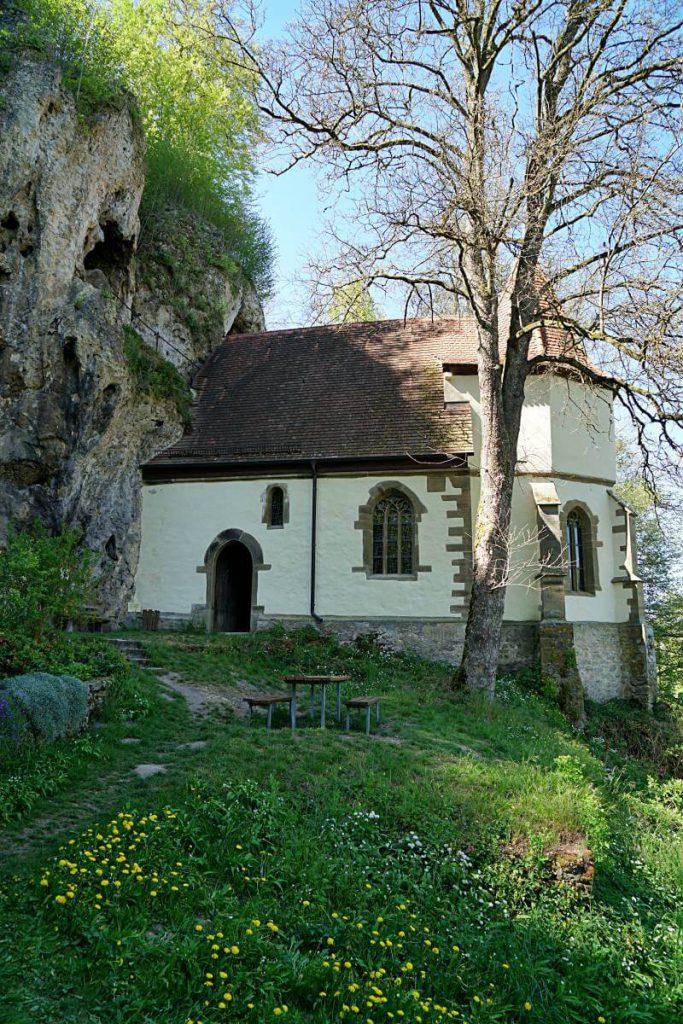 Die Kapelle St Wendel zum Stein in Doerzbach