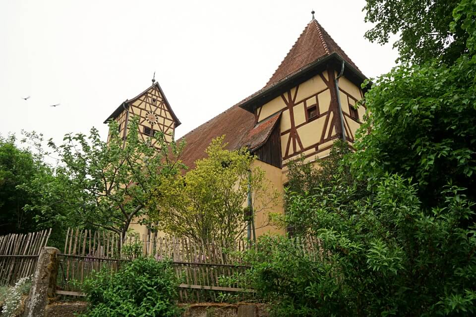 Kirche St Veit in Unterregenbach