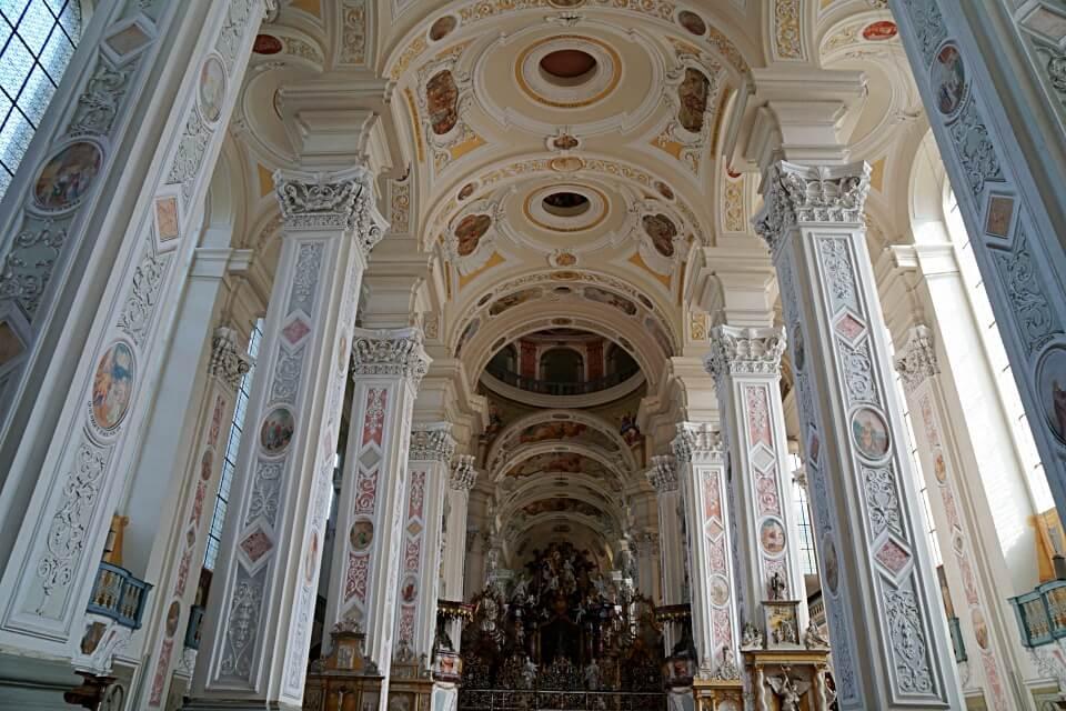 Barocke Kirche Kloster Schoental im Jagsttal