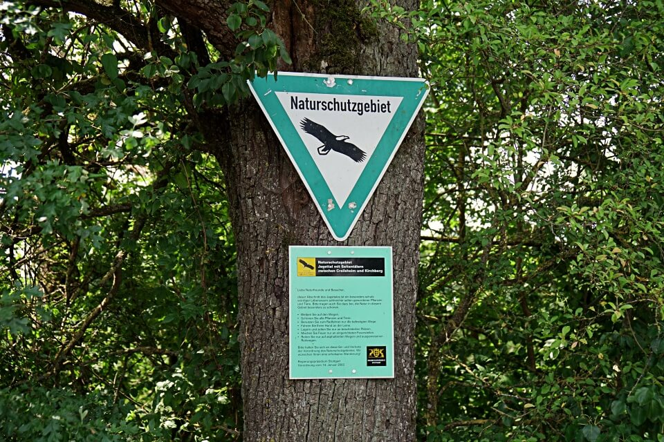 Natur und Landschaftsschutzgebiet Jagsttal mit Seitentaelern zwischen Crailsheim und Kirchberg