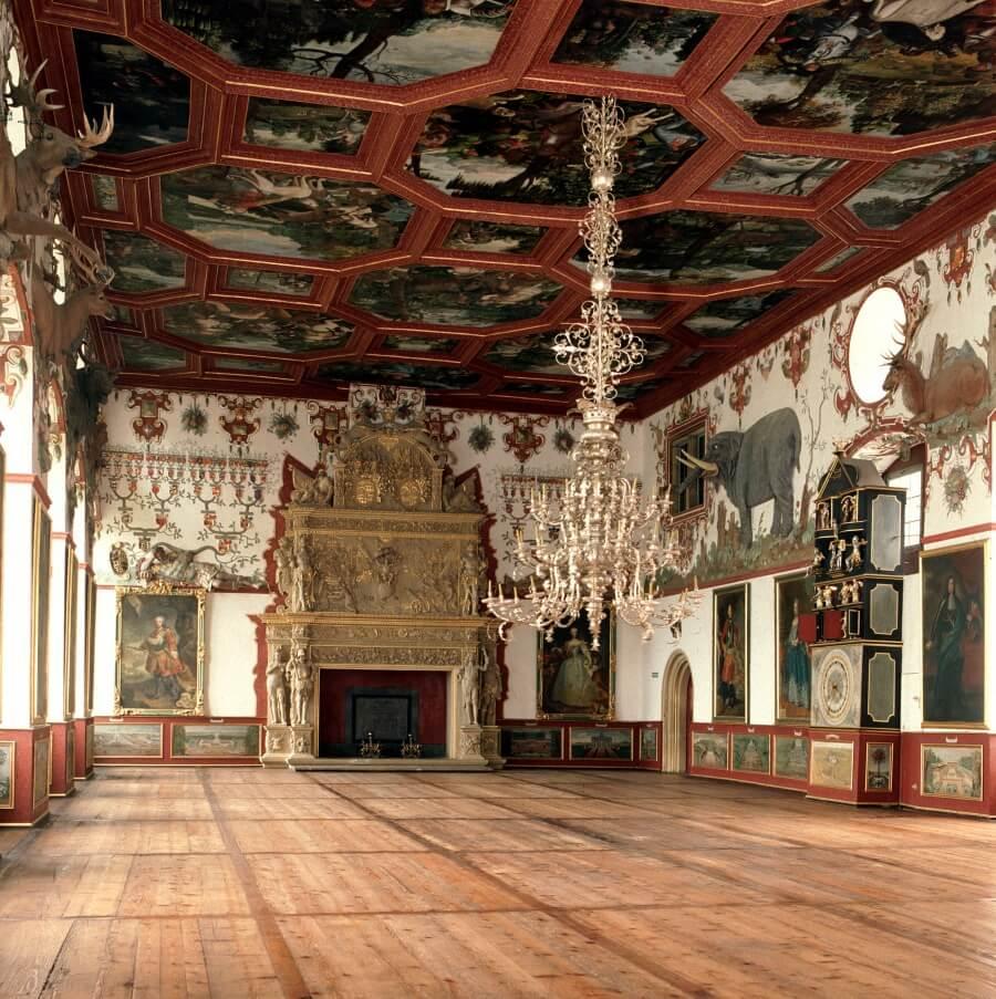 Rittersaal Schloss Weikersheim Fotonachweis Staatliche Schloesser und Gaerten Baden-Wuerttemberg, Schlossverwaltung Weikersheim