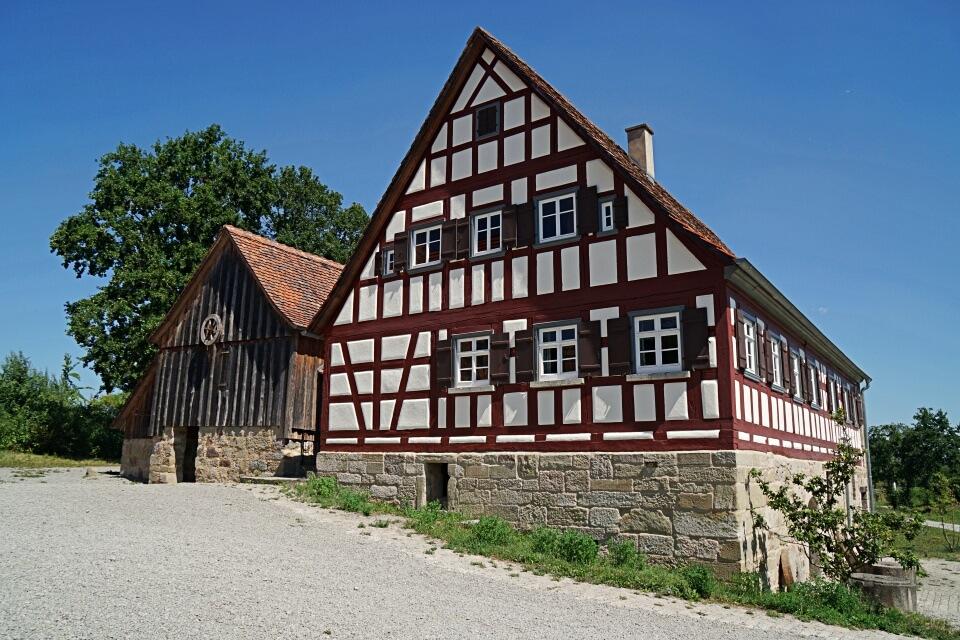 Muehle im Freilandmuseum Wackershofen
