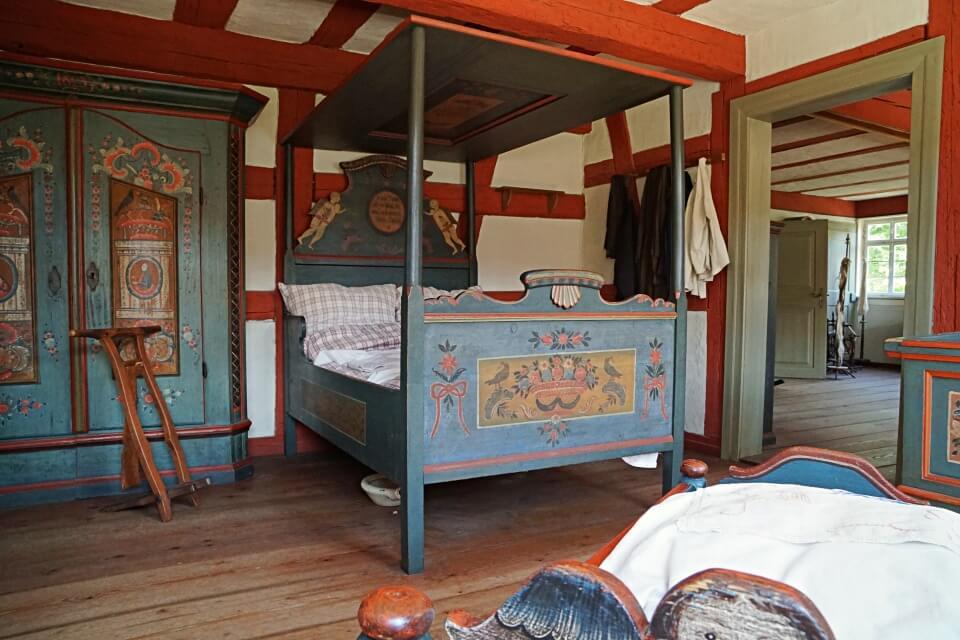 Zimmer im Bauernhaus in Waclershofen