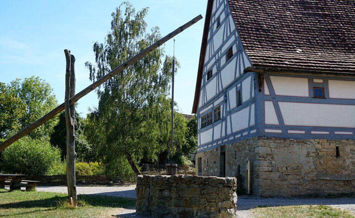 Das Hohenloher Freilandmuseum in Wackershofen ist ein tolles Ausflugsziel in Hohenlohe