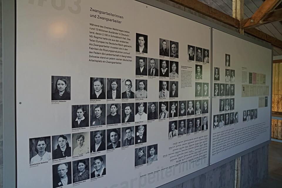 Zwangsarbeiter Baracken im Freilandmuseum Hohenlohe