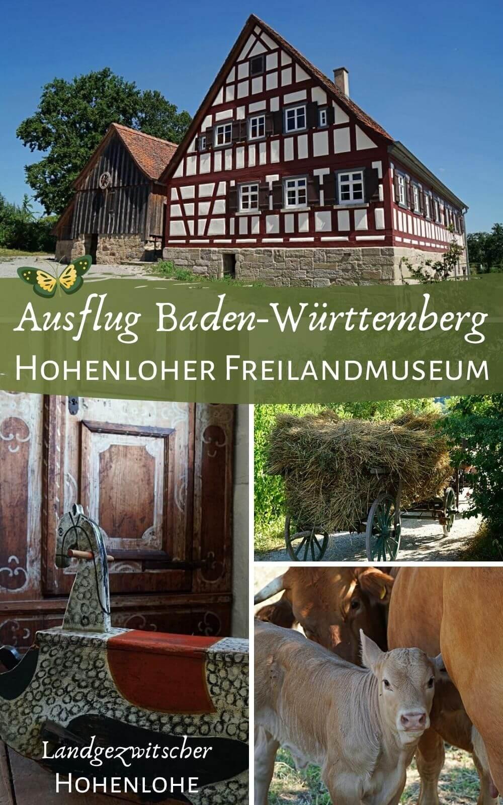 Ausflugsziel Freilandmuseum Wackershofen in Hohenlohe