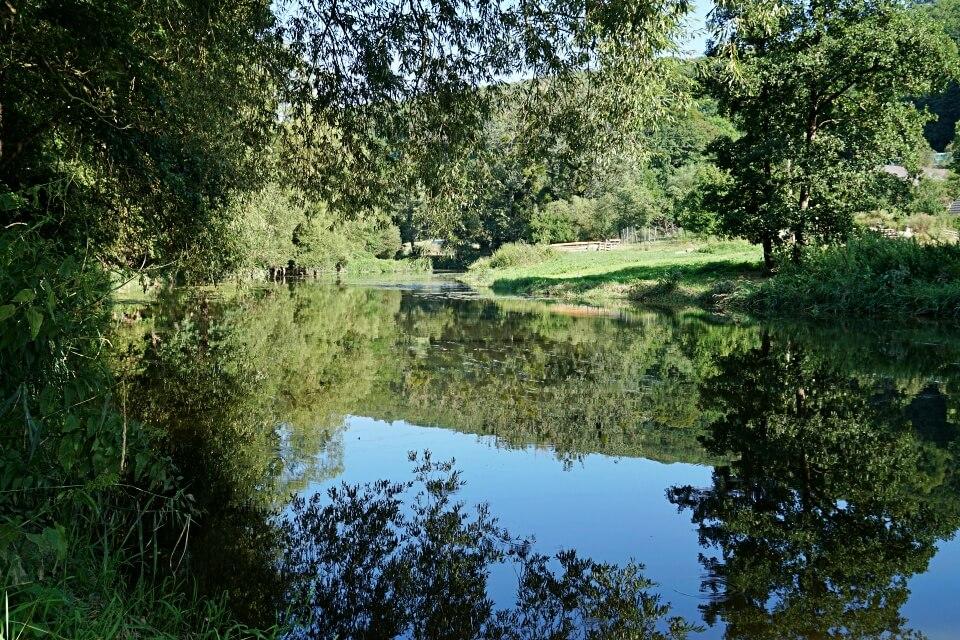 Die Jagsttalranch in Gerabronn direkt an der Jagst im Hohenloher Land