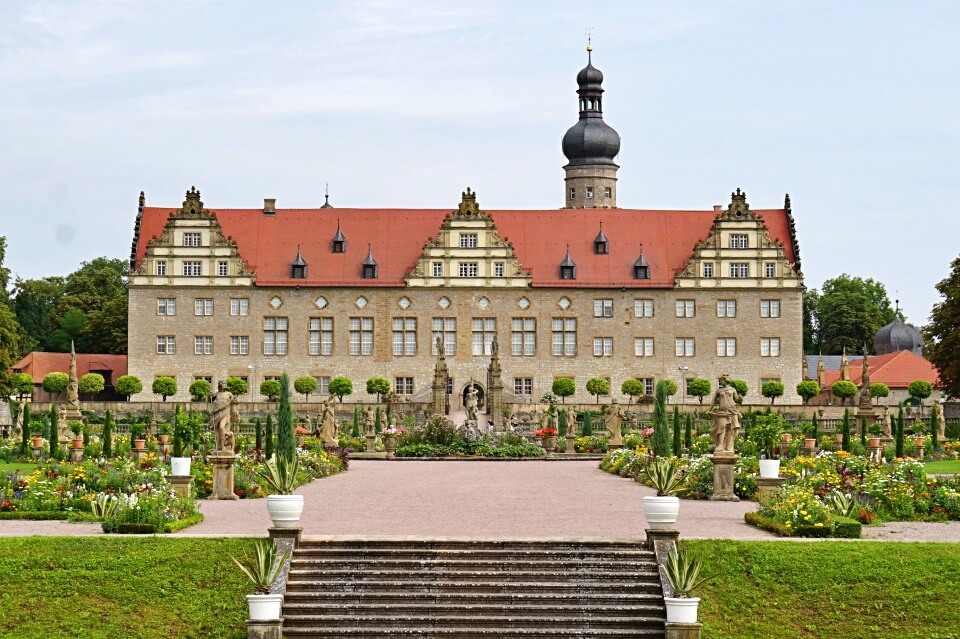 Ausflugsziel Schloss Weikersheim im Taubertal
