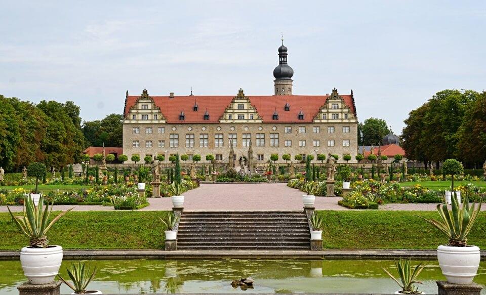 Der barocke Schlossgarten Weikersheim