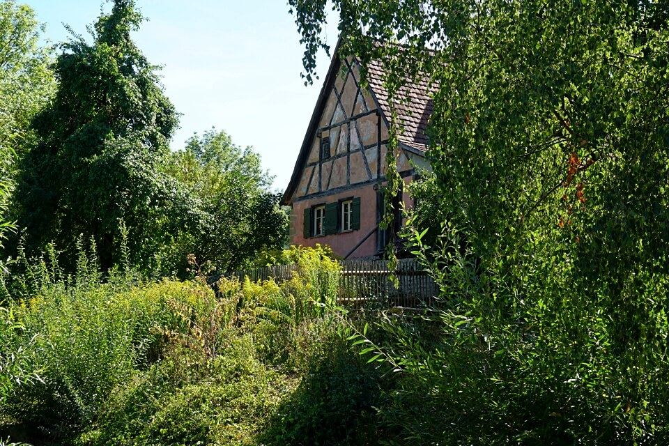 Seldnerhaus im Freilandmuseum Wackershofen