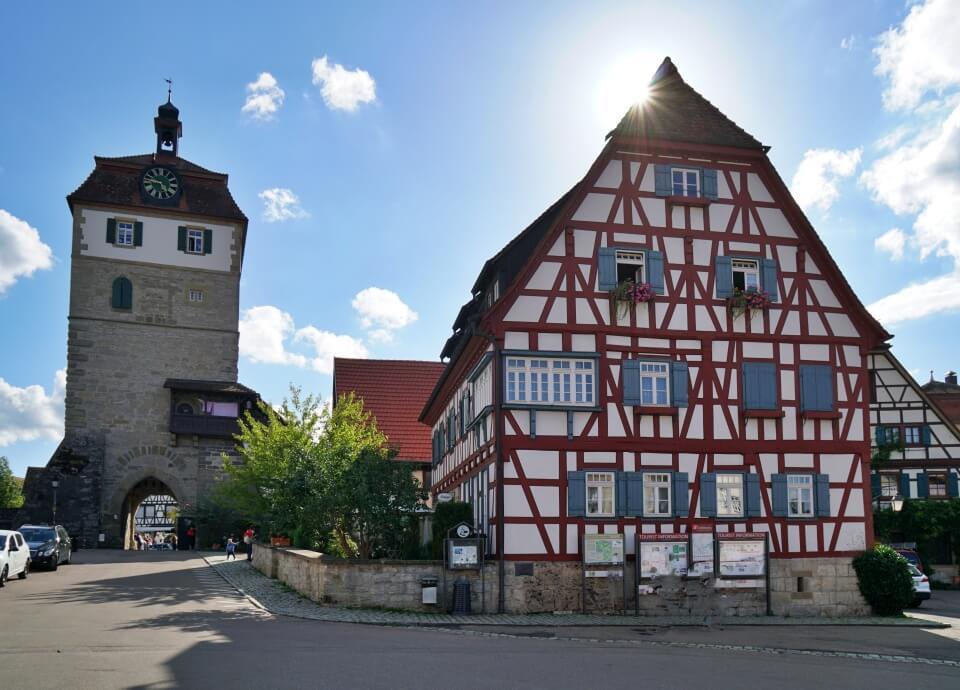 Stadttorturm und Fachwerkhaus Fiebich