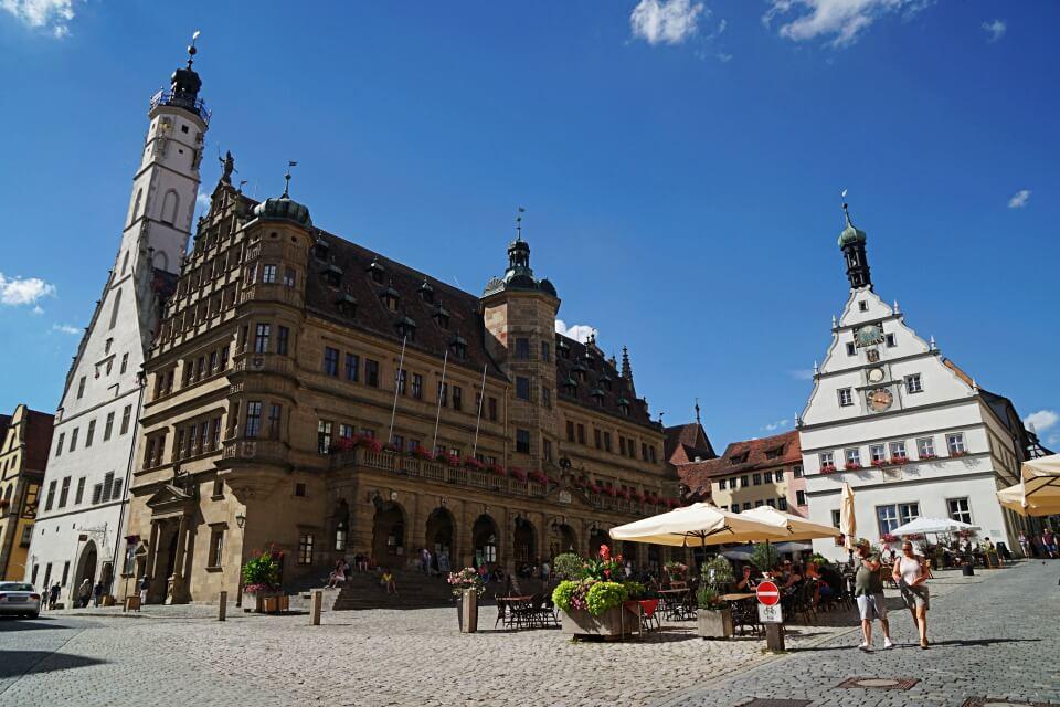 Marktplatz Rothenburg ob der Tauber