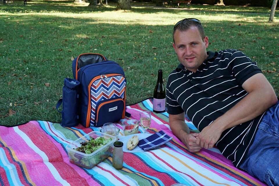 Picknick im Burggarten Rothenburg
