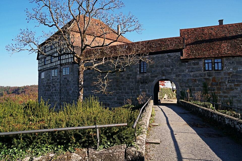 Burg Maienfels in Brettach im Mainhardter Wald