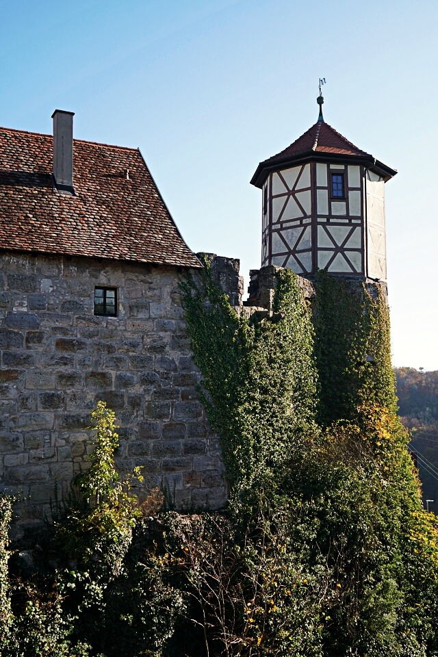 Burg Maienfels in Brettach in Hohenlohe