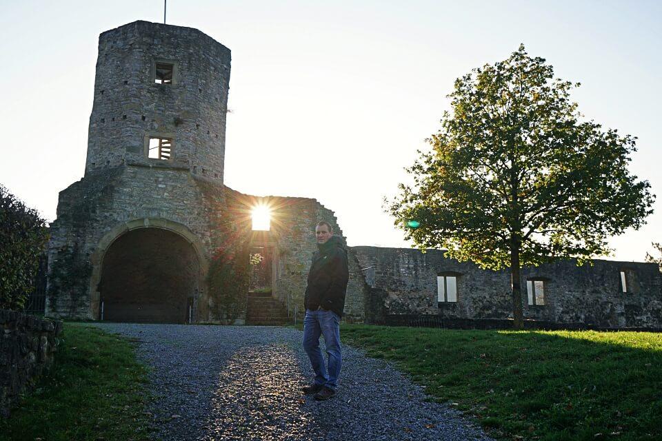 Schlossruine Forchtenberg in Hohenlohe