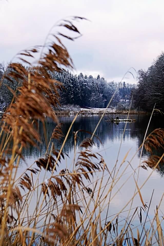 Finsterroter See im Winter