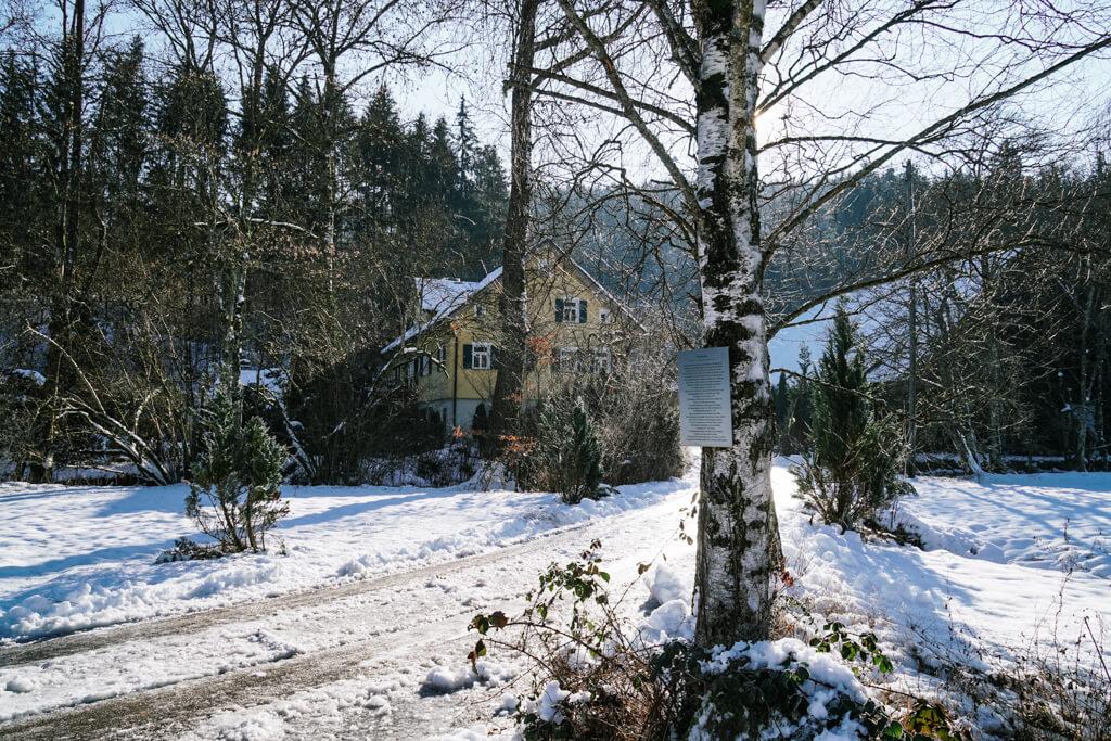 Scherbenmuehle Rottal Grosserlach im Schwaebischen Wald