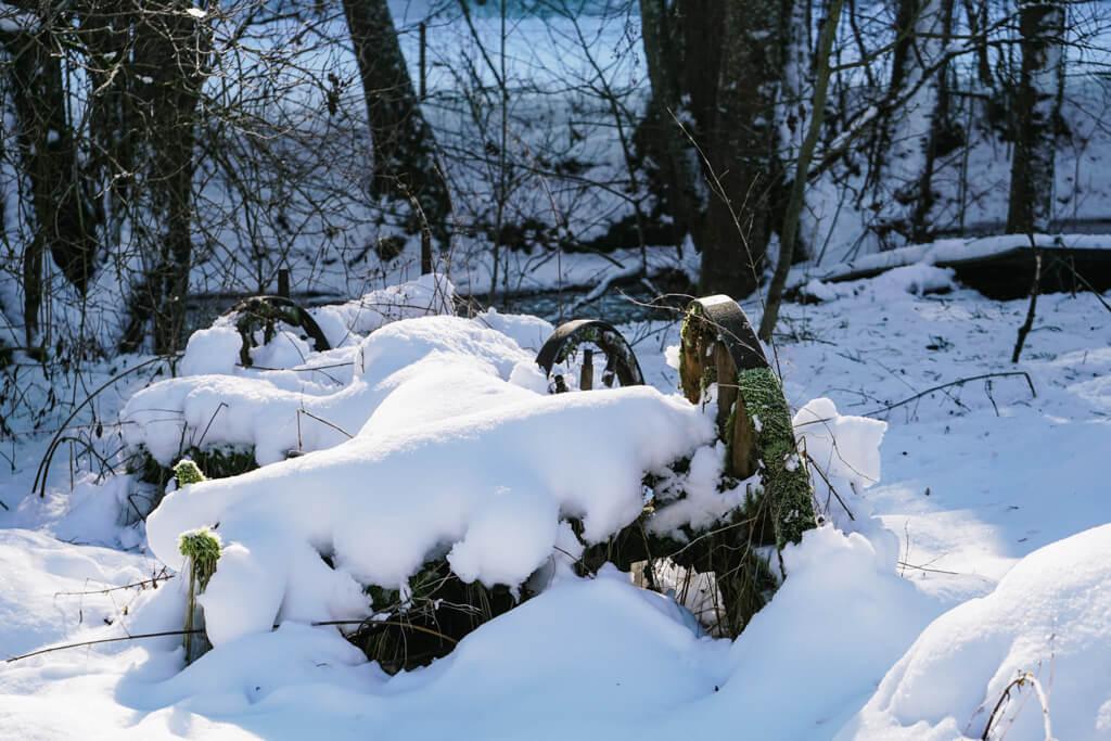 Traubenmuehle im Rottal bei Mannhardt im Schwaebischen Wald