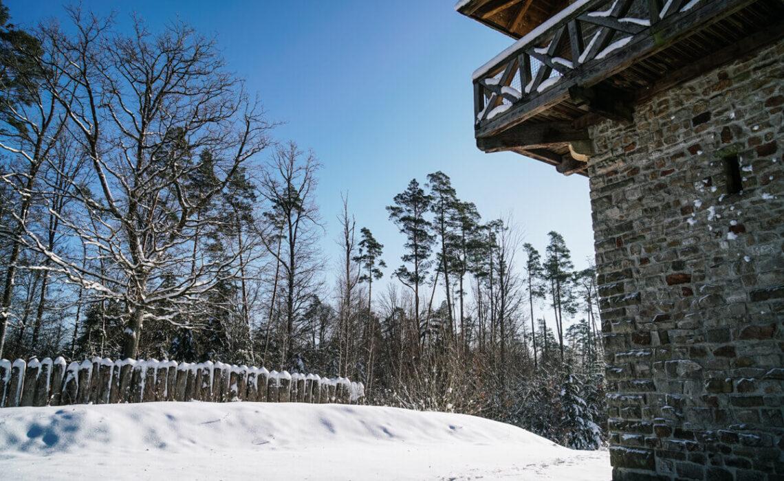 Wanderung zum Limesturm am Heidenbuckel in Grab