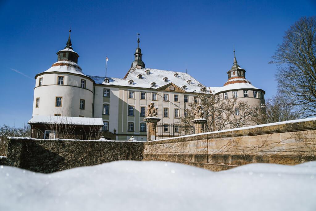 Schloss Langenburg im Winter