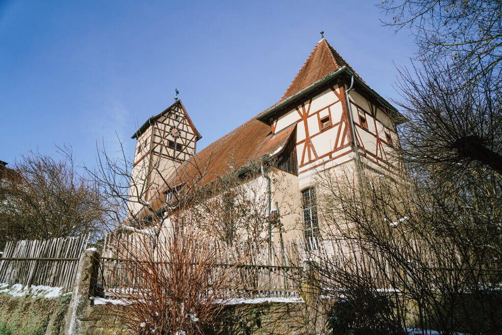 Kirche St Veit Unterregenbach