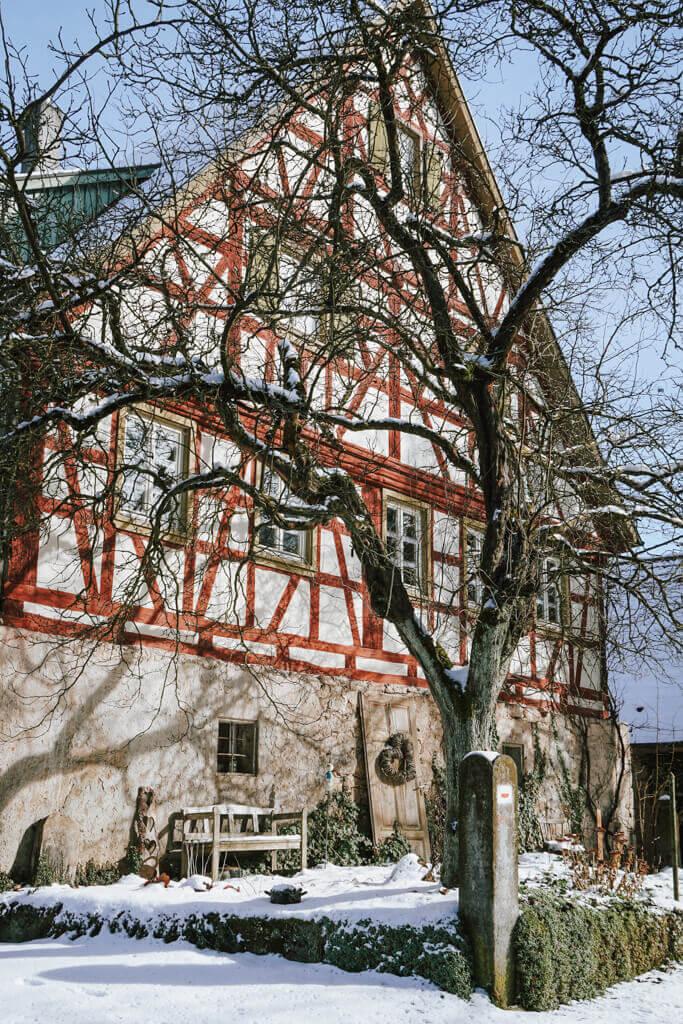 Fachwerkhaus Oberregenbach im Jagsttal