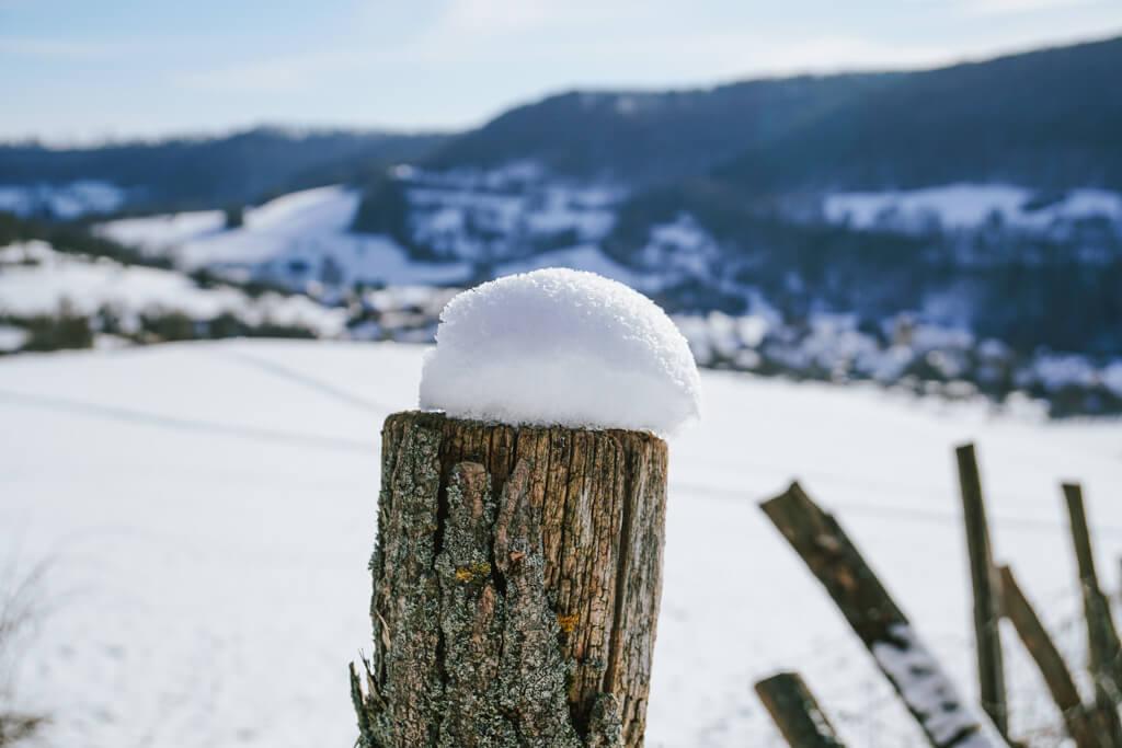 Winterwandern im Jagsttal in Hohenlohe