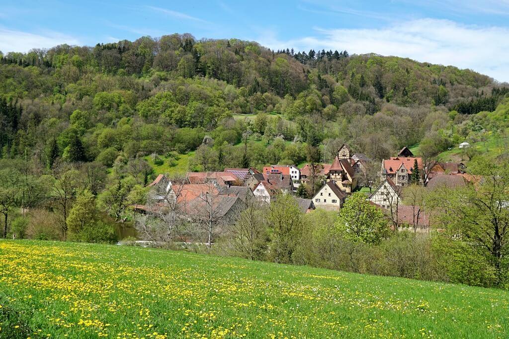 Unterregenbach im Jagsttal
