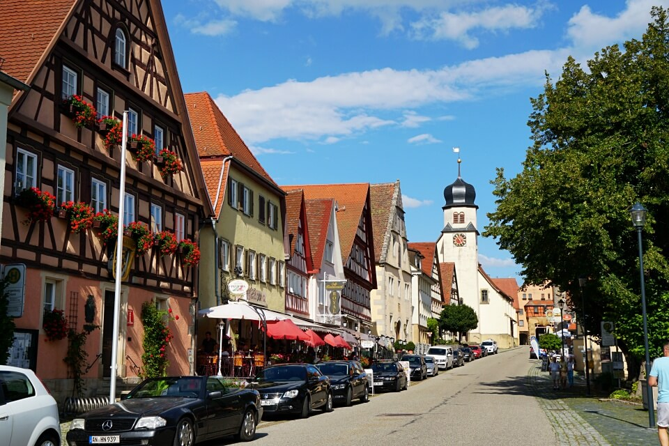 Langenburg in Hohenlohe