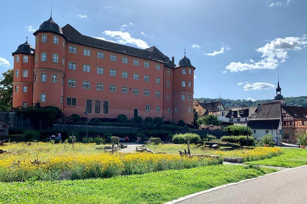 Wertwiesen und Schloss Kuenzelsau